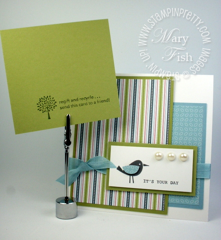Stampin up birthday card idea demonstrator tutorial occasions mini catalog