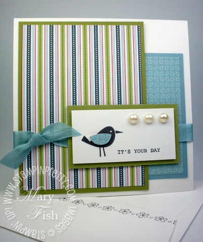Stampin up birthday card occasions mini catalog demonstrator video tutorial