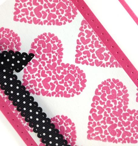 Stampin up valentine heart card idea simply scored occasions mini catalog