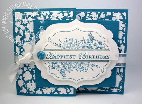 Stampin up framelits labels big shot die joyfold card demonstrator video tutorial