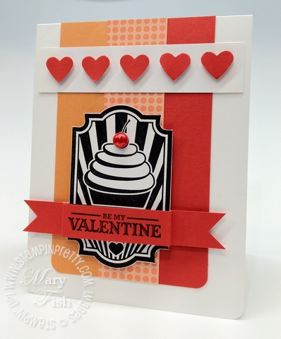 Stampin up valentine card idea occasions mini catalog punch video tutorial demonstrator 3