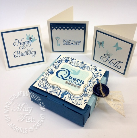 Stampin  up elementary elegance rubber stamps twitterpated bitty box group