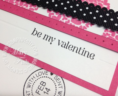 Stampin up valentine card idea simply scored demonstrator