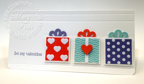 Stampin up square punch valentine card idea occasions mini catalog simply scored front
