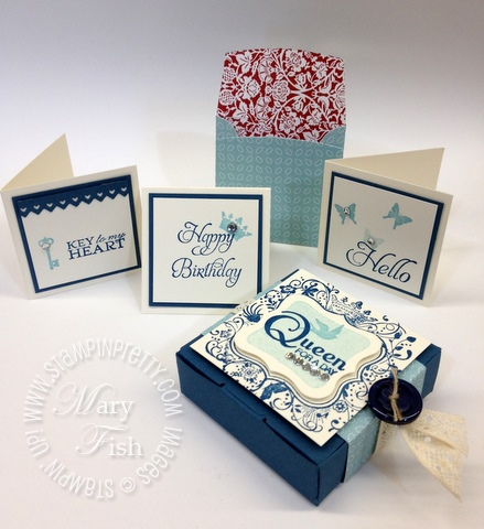 Stampin up elementary elegance big shot bitty box envelope video tutorial