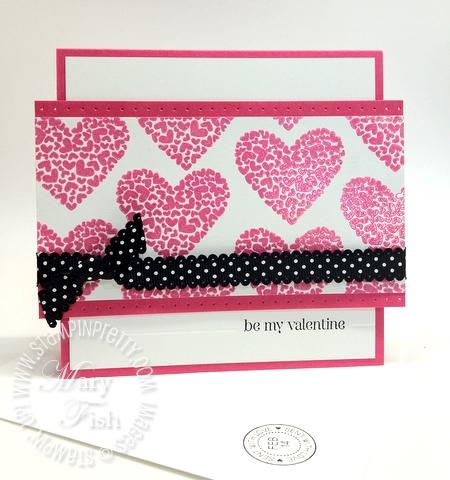 Stampin up valentine card occasions mini catalog idea simply scored