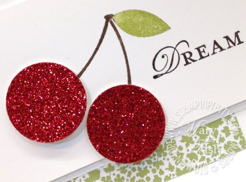 Stampin Up! Sweet Cherries Stampin Pretty