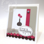 PPA Challenge & Stampin' Up! Bright Blossoms
