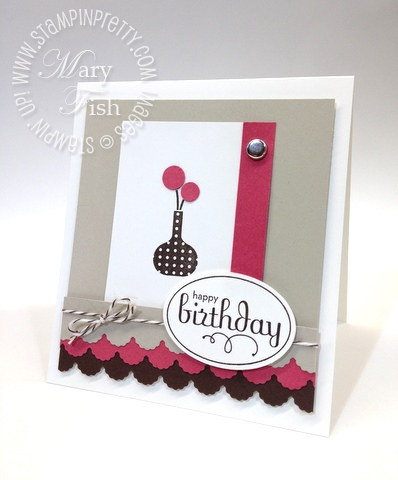 Stampin up stampin pretty ppa129