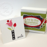 Stampin' Up! Bright Blossoms Trio