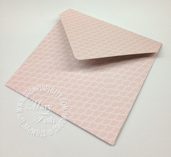 Stampin up simply scored diagonal plate make envelopes tutorial