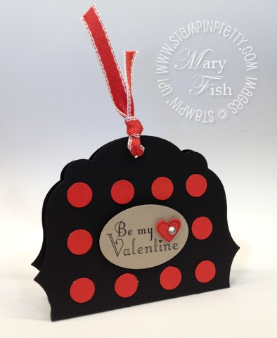 Stampin up valentine candy bar holder circle oval heart punch labels framelits die tutorial