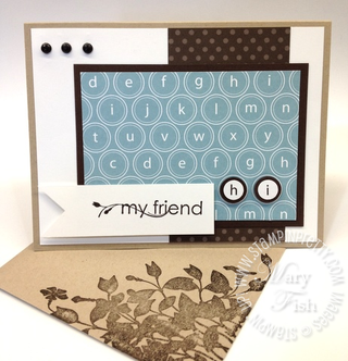 Stampin up rubber stamps circle square punch catalog blog