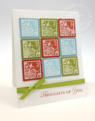 Stampin up saleabration occasions mini catalog square postage stamp punch 3