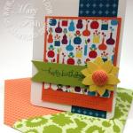 Summer Smooches Happy Birthday Card