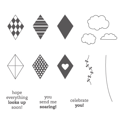 Send me soaring rubber stamps stampin up