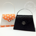 Dressing Up the Stampin' Up! Petite Purse Die