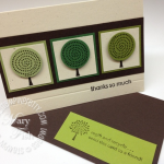 Stampin' Up! Trendy Trees for Earth Day!