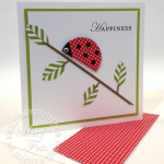 Stampin' Up! Circle Punch Leaves