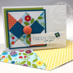 Product Focus:  Stampin' Up! 1″ Square Punch