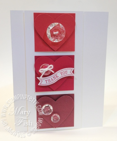 Stampin up heart punch in color new catalog comparison big shot itty bitty banners framelits