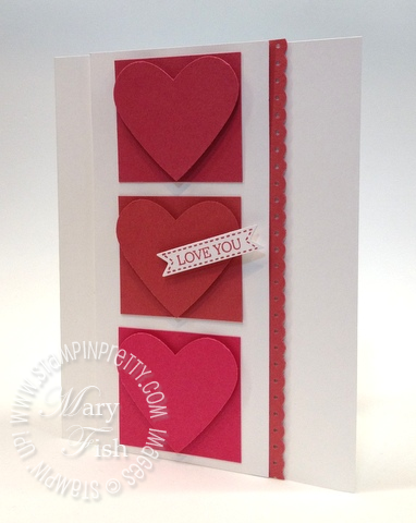 Stampin up in colors new catalog heart punch demonstrator blog comparison primrose petals