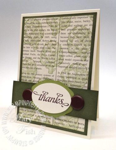 Stampin up retiring stamp accessories list demonstrator blog hop big shot edgelits thank you cards
