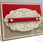 Simple Vintage with Stampin' Up! Layered Labels
