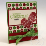 Stampin' Up! Chock-Full of Cheer Holiday Matchbook