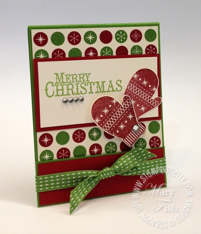 Stampin up demonstrator blog catalog holiday card idea gift matchbook tutorial