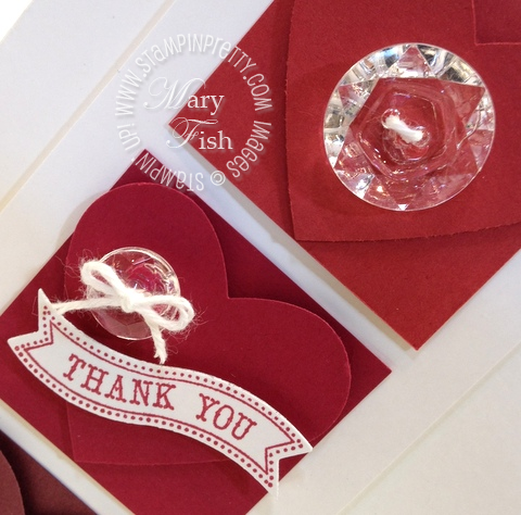 Stampin up new catalog in color comparison big shot itty bitty banners framelits card idea