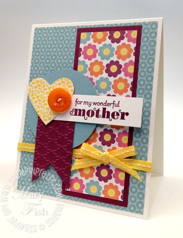 Stampin up new catalog sneak peeks floral district mothers day card idea demonstrator