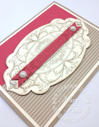 Stampin up demonstrator blog layering labels apothecary accents framelits big shot die-cutting machine