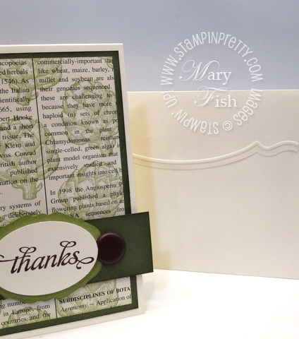Stampin up retiring stamp accessories list demonstrator blog hop big shot edgelits thank you card