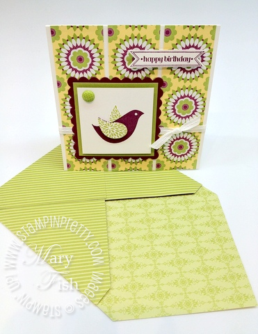 Stampin up demonstrator blog card ideas punch simply scored diagonal plate envelopes tutorial