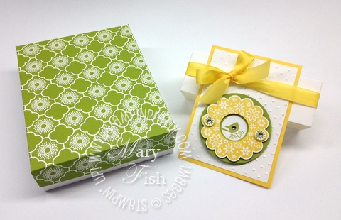 Stampin up stampin pretty demonstrator blog catalog big shot punch a2 box tutorials simply scored