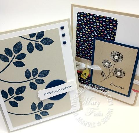 Stampin up rubber stamps demonstrator blog catalog punch graduation card idea