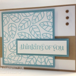 """Simple """"Thinking of You"""" Card Idea"""