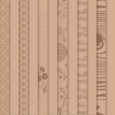 Designer series paper natural composition stampin up