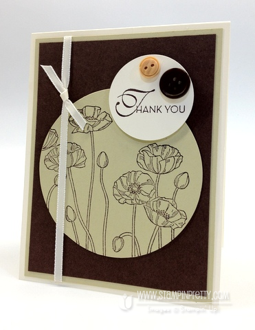 Stampin up pretty order online catalog demonstrator blog big shot machine circle punch
