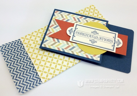 Stampin up demonstrator blog envelope tutorial simply scored graduation congratulation card punch