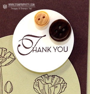 Stampin up demonstrator blog catalog circle punch order online pretty card ideas