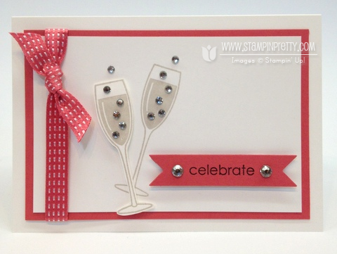 Stampin up order online demonstrator new catalog punch anniversary card idea blog weddings