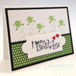 Hoppy Birthday Card for Henry!