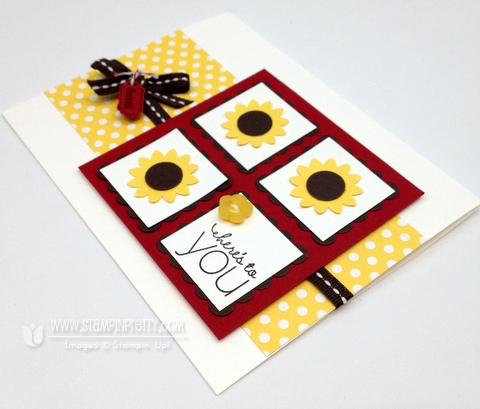 Stampin up pretty order online demonstrator blog punch card ideascatalog