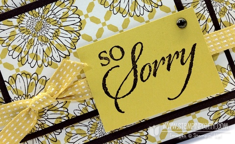 Stampin up demonstrator blog order on line triple time stamping sympathy card ideas
