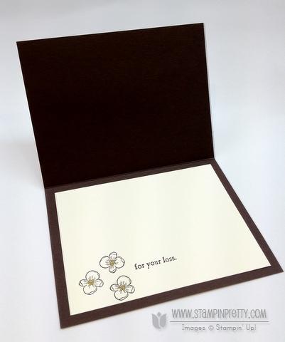 Stampin up demonstrators blog order online triple time stamping sympathy card ideas