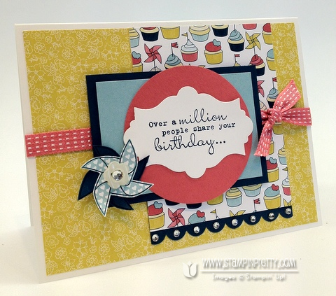 New Mojo Monday Card And A Reason To Smile Stampin Pretty