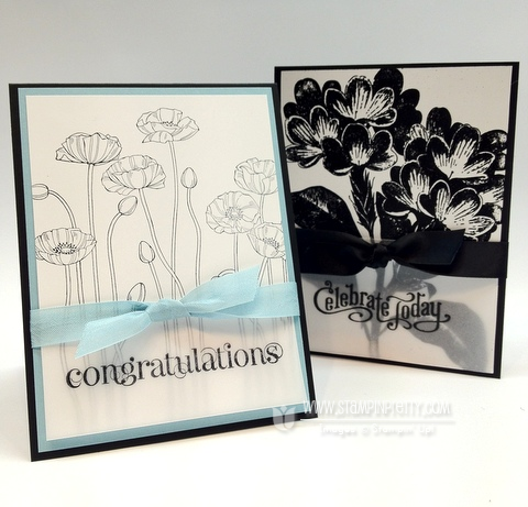 Stampin up pleasant poppies stampin up demonstrator catalog blog simple card ideas