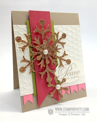 Stampin up snowflake big shot die mojo monday order online holiday mini catalog framelits